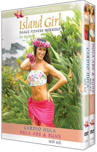 Island Girl Dance Fitness Workout For Beginners: Hula-Cardio / Abs And Buns (2 Volume Box Set) DVD Image