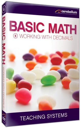 Basic Math Module 06: Working With Decimals DVD Image