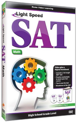 Ligth Speed SAT: Math DVD Image