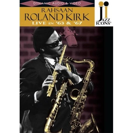 Jazz Icons: Roland Kirk: Live In '64 & '67 DVD Image