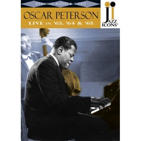 Jazz Icons: Oscar Peterson: Live In '63, '64 & '65 DVD Image
