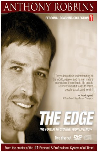 Anthony Robbins: The Edge: The Power To Change Your Life Now (DVD/CD Combo/ Amray Case) DVD Image