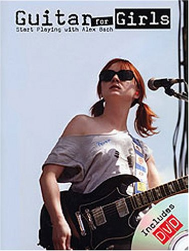 Guitar For Girls: Start Playing With Alex Bach (w/ Book) DVD Image