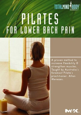Pilates For Lower Back Pain DVD Image