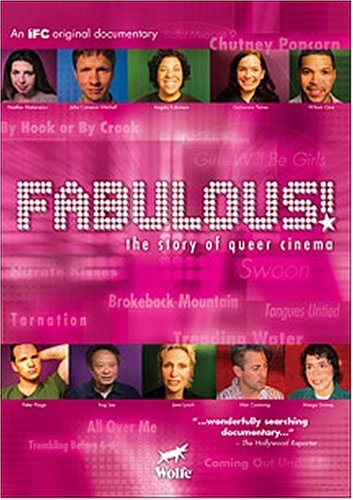Fabulous!: The Story Of Queer Cinema (Wolfe) DVD Image