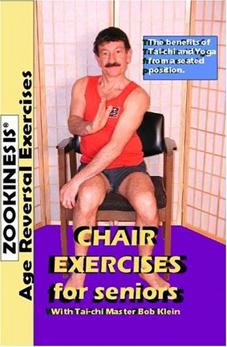 Zookinesis Chair Exercises For Seniors DVD Image
