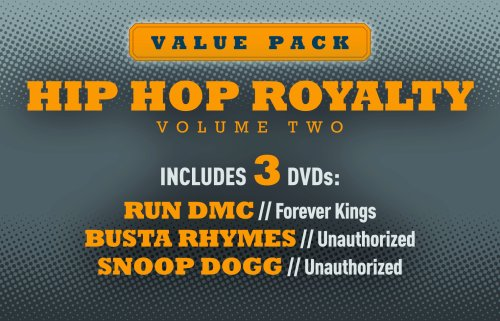 Hip Hop Royalty, Vol. 2: Run DMC, Busta & Snoop DVD Image