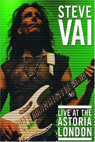 Steve Vai - Live at the Astoria London DVD Image