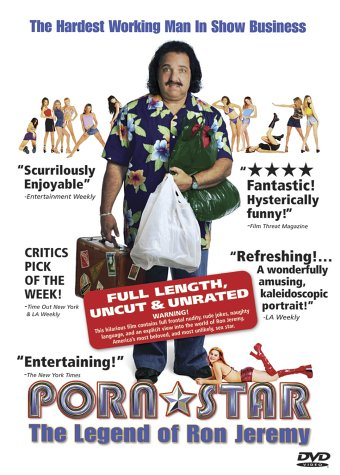 Porn Star: The Legend Of Ron Jeremy (Unrated Version) DVD Image