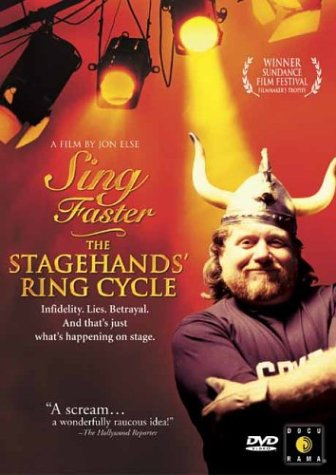 Sing Faster: The Stagehand's Ring Cycle DVD Image