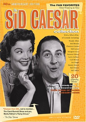 Sid Caesar Collection: The Fan Favorites (3-Pack/ New Video): Love And Laughter / The Professor And Other Clowns / ... DVD Image