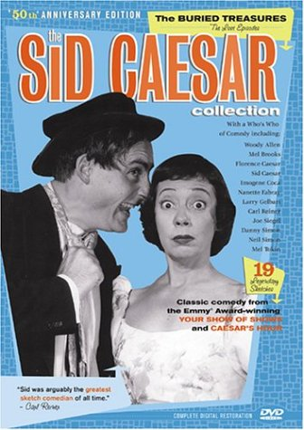 Sid Caesar Collection: The Buried Treasures (3-Pack): The Impact Of Sid / The Legend Of Sid / Shining Stars DVD Image