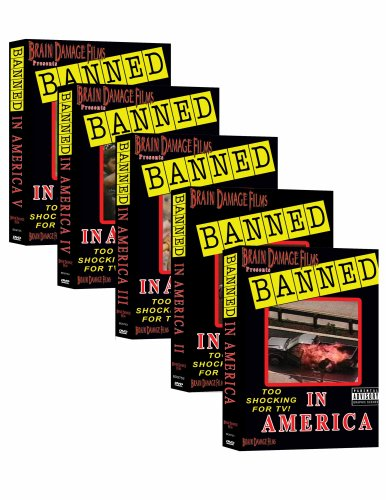 Banned In America 1 - 5 (Boxed Set) DVD Image