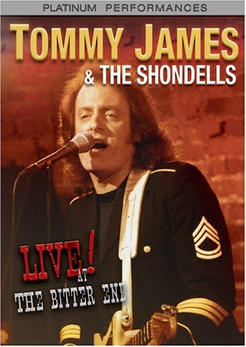 Tommy James & The Shondells: Live! At The Bitter End DVD Image