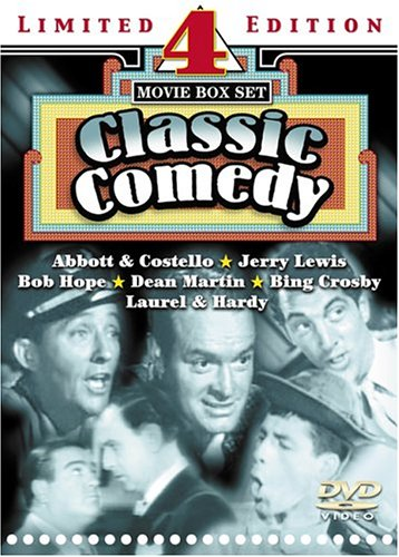 Classic Comedy: 4 On 2: At War With The Army / Africa Screams / The Flying Deuces / Road To Bali DVD Image