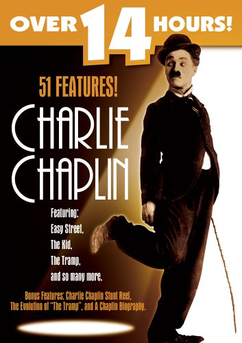 Charlie Chaplin (St. Clair Entertainment): A Day's Pleasure / Sunnyside / The Kid / Between Showers / Charlie's Recreation / ... DVD Image