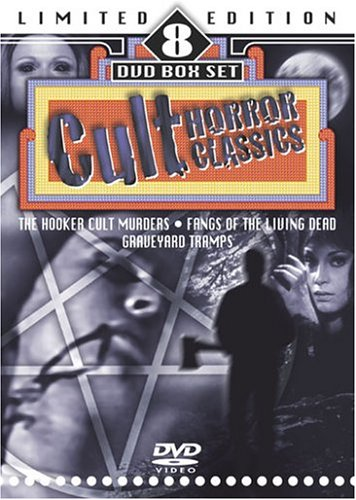 Cult Horror Classics (8-Pack): Demon / The Devil's Nightmare / Fangs Of The Living Dead / Graveyard Tramps / ... DVD Image