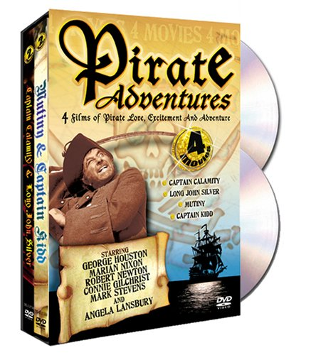 Pirate Adventures: Long John Silver's Return To Treasure Island (Direct Source) / Captain Calamity DVD Image