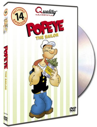 Popeye The Sailor DVD Image