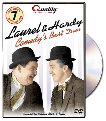 Laurel & Hardy (Direct Source): Comedy's Best Duo DVD Image