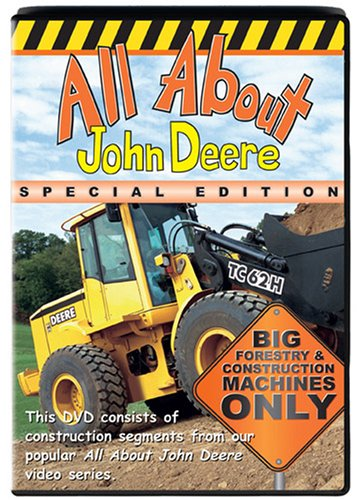 All About John Deere: Big Forestry & Construction Machines Only (Special Edition) DVD Image