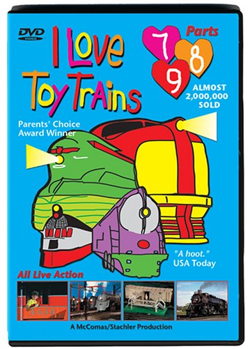 I Love Toy Trains, Vol. 07 - 09 DVD Image