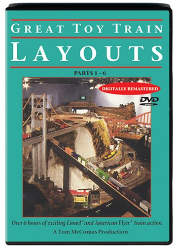 Great Toy Train Layouts DVD Image