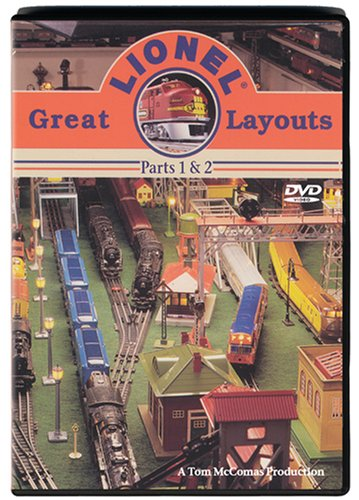 Great Lionel Layouts DVD Image
