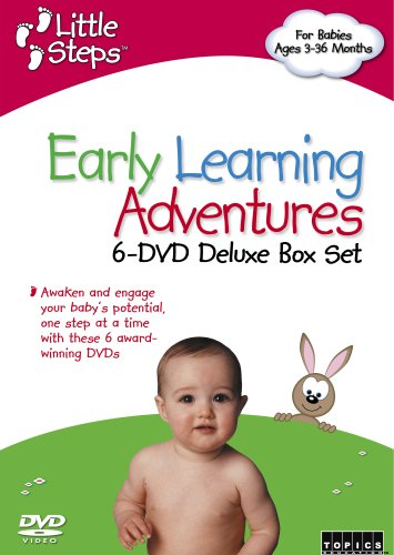Little Steps, Vol. 1: Early Learning Adventures DVD Image