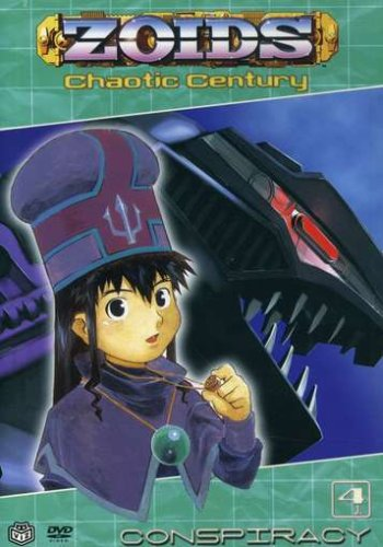 Zoids: Chaotic Century #04: Conspiracy DVD Image