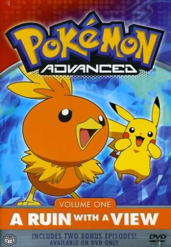Pokemon Advanced #1: A Ruin With A View DVD Image