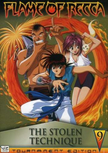 Flame Of Recca #09: The Stolen Technique DVD Image