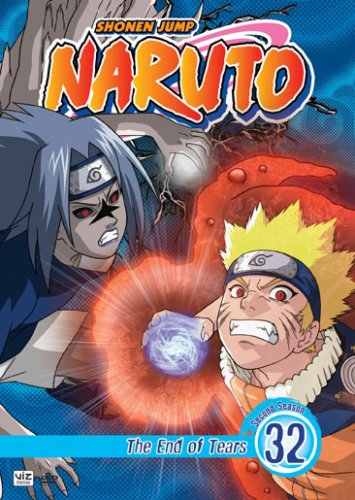 Naruto #32: The End Of Tears DVD Image