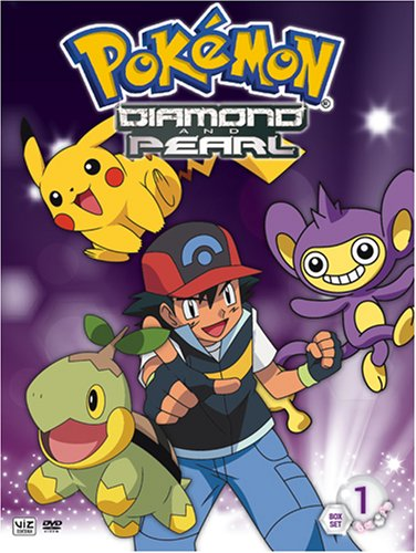 Pokemon: Diamond And Pearl #1 & 2 (Box Set) DVD Image