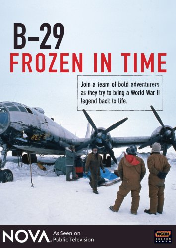 B-29 Frozen In Time DVD Image