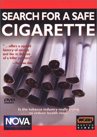 Nova: Search For A Safe Cigarette DVD Image