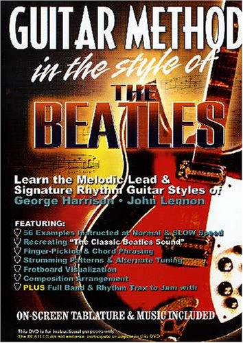 Guitar Method: In The Style Of The Beatles DVD Image