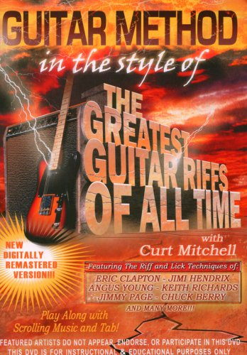 Guitar Method: In The Style Of Greatest Guitar Riffs Of All Time DVD Image
