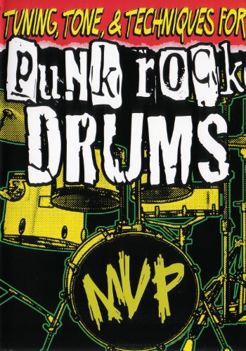 Tuning, Tone, & Technics For Punk Rock Drums DVD Image