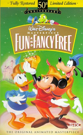 Fun and Fancy Free (Fully Restored 50th Anniversary Limited Edition) (Walt Disney's Masterpiece)  [VHS] DVD Image
