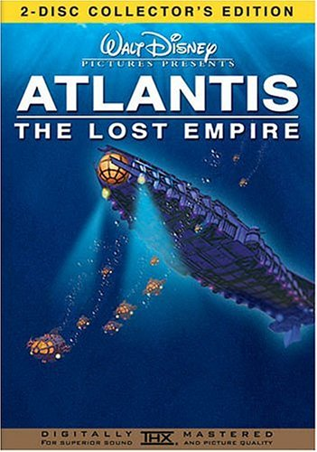Atlantis: The Lost Empire (Collector's Special Edition) DVD Image