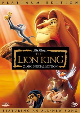 Lion King (Special Edition) DVD Image
