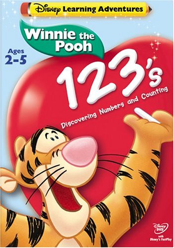 Winnie The Pooh: 123's DVD Image