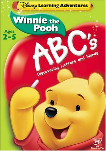 Disney's Learning Adventures - Winnie the Pooh - ABC's DVD Image