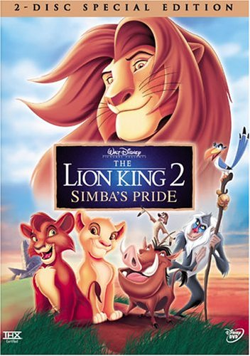 Lion King 2: Simba's Pride (Special Edition) DVD Image