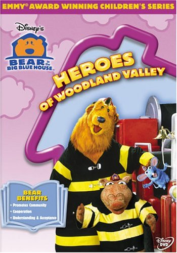 Bear In The Big Blue House: Heroes Of Woodland Valley (Buena Vista) DVD Image