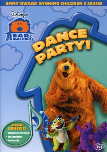Bear In The Big Blue House: Dance Party! (Buena Vista/ Rental Ready) DVD Image