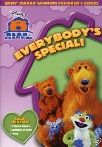 Bear In The Big Blue House: Dance Party! (Buena Vista) DVD Image