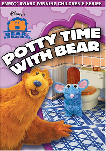 Bear In The Big Blue House: Potty Time With Bear (Buena Vista) DVD Image