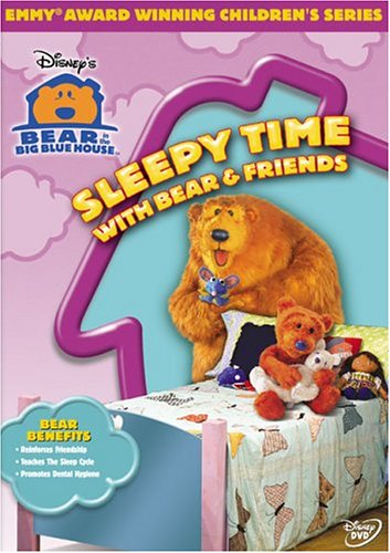 Bear In The Big Blue House: Sleepy Time With Bear And Friends (Buena Vista) DVD Image